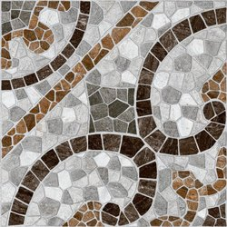 Matt Square Ceramic Floor Tile, Size: 600*600 mm, Thickness: 5-10 mm