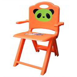 Orange Foldable Kids Chair