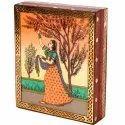 Artistic Gemstone Ragini Printed Jewellery Box