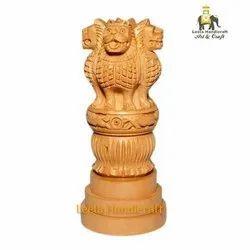 Wooden Ashoka Head