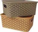 Solitaire Plastic Basket