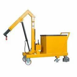 MS Counter Balance Hydraulic Floor Crane