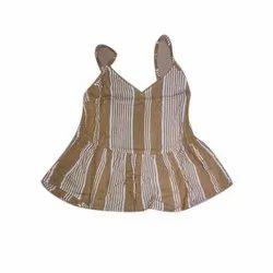 Rayon Ladies Striped Top