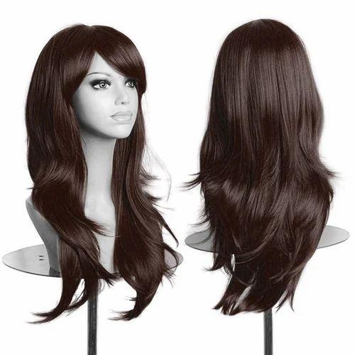 Natural Ladies Hair Wigs 51367fa769