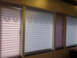 Polyester Open Roman Blinds