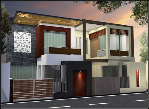 Front Elevation Residences Interior Decorators Service Provider From Ludhiana