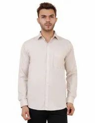 Fawn Color Full Sleeve Casual Shirt