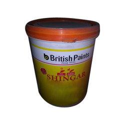 British Shingar Exterior Emulsion Wall Paint, Packaging Type: Bucket