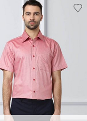 Red Contemporary Fit Shirt