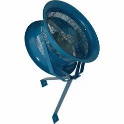 Mild Steel Column Mounted Fan