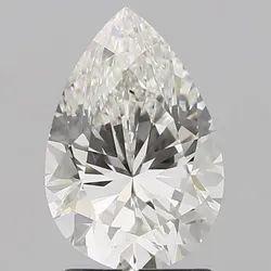 2.02CT Pear Diamond G VVS2 IGI Certified Lab Grown CVD Type 2A