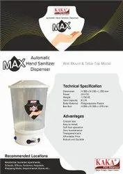 MAX AUTOMATIC HAND SANITIZER DISPENSER