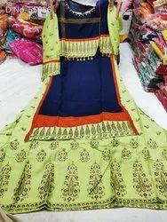 Kajal Style Embroidered Kurtis