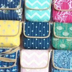 Cotton Adjustable Side Sling Bag, 200-300g