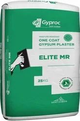 Bag Gyproc Gypsum Elite Mr, Grade: B1, Packaging Size: 25 Kg