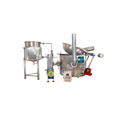 Circular Fryer with Inbuilt Heat Exchanger