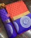 Kanjivaram Tusser Silk Saree