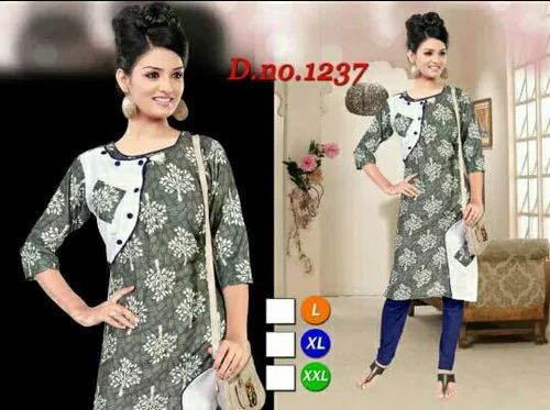 Casual Wear Jaipuri Cotton Kurtis