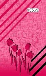 Pure Cotton Nighty Fabric, Floral, Multicolour