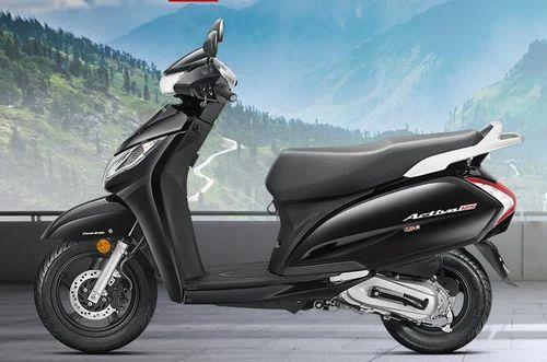 Black Honda Activa 125cc Scooter Rs 53921 Unit Srijan Honda Id