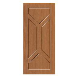 Brown Standard Membrane Moulded Door, for Home