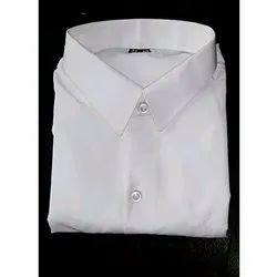 Plain White Formal Shirt, Packaging Type: Box
