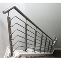 Panel Silver Stainless Steel Railing