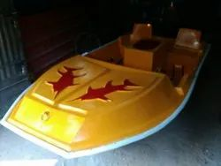 FRP Paddle Boats For 4 Persons