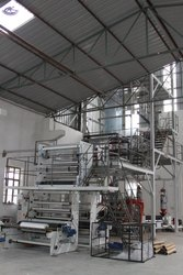 Three Extruder Blown Film Plant