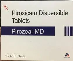 Piroxicam Dispersible Tablet 20mg