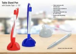 L137 - Table Stand Pen With Double Tape