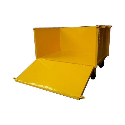 One Side Open Box Trolley