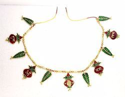 Gold Plated Kalash Bandharwal