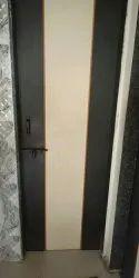 Matt Ivory-Brown PVC Panel Doors, Balcony, Rectangle