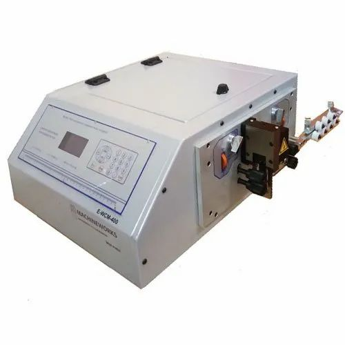 Fully Automatic Wire Stripping Machine, Capacity: 2000 - 5000 Pcs/Hr, E-WCM-400