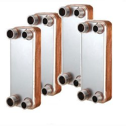 Diva Copper And Ss Brazed Plate Heat Exchanger, For Industrial