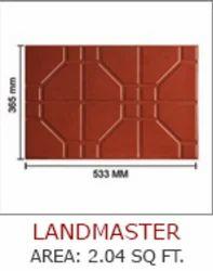 Red Ultra LANDMASTER Floor Tiles
