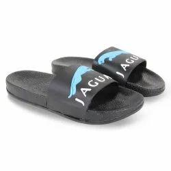 Black Gents Slider Slipper Flip-Flops
