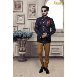 Festive Mens Designer Jodhpuri Suit
