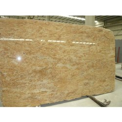 Madura Gold Granite Slab, Flooring, Thickness: 18 mm