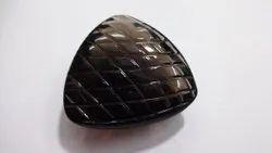 Smoky Quartz Trillion Carving, Carved Fancy Shape Calibrated Loose Gemstone Pairing Set