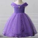 Adorable Purple Party Dress