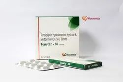 Teneligliptin 20 mg and Metformin 500 mg (Sustained Release) Tablets