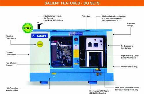 62.5 KVA Ashok Leyland Silent Generator  Phase V Generator Wiring Diagrams on
