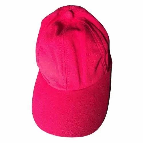 638c329baf7e5 Pink Plain Cap, Rs 78 /piece, Yash Enterprises   ID: 15729084297