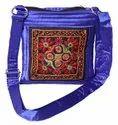 Silk Adjustable Handwork Slinge Bag, 500g, Size: 19.50 * 20 Cm