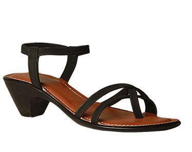 2a177be764 Leather Formal Bata Women Black Sandals F661613300, Size: 3 4 5 6 7 ...