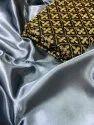 Satin Silk Saree With Full Work Blouse