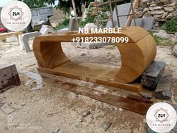 Flyover Sandstone Bench