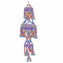 Heart Crystal Hanging Jhumar